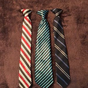 Other - Boys Clip On Ties Lot of 3